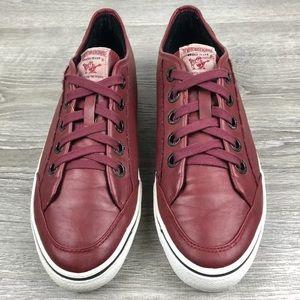 True Religion Rare Low Profile Leather Sneakers